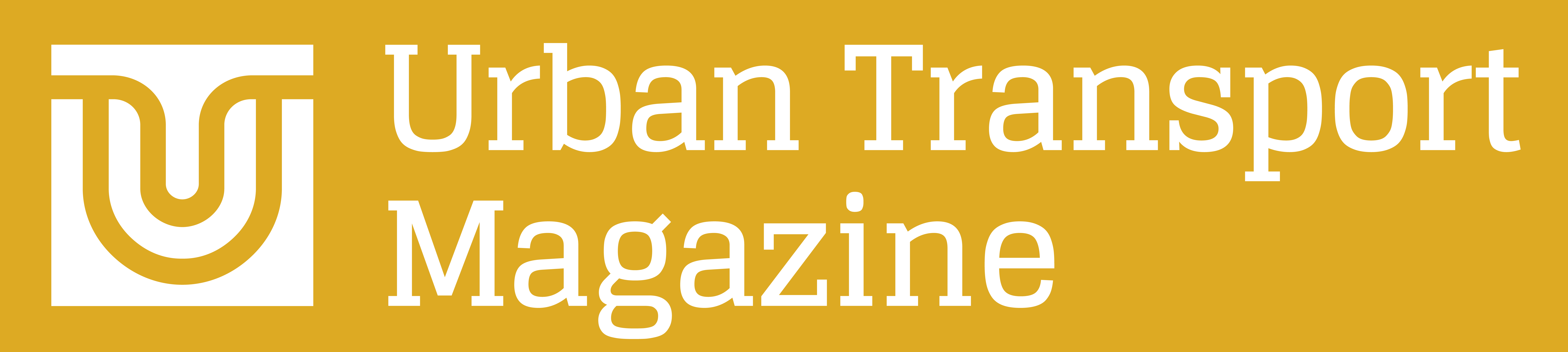 Logo Urban Transport Magazine